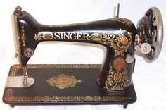 Vintage 1919 Singer Sewing Machine