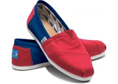 TOMS. Not advertised at LA TECH but by gosh, it's the right colors!! $48