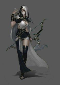 RC @ranger #female #archer