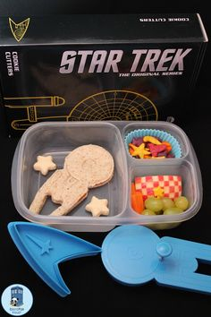 """An Enterprise bento for my favorite #Trek fan"""