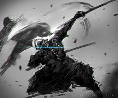 DeathSword Play, Benedick Bana on ArtStation at https://www.artstation.com/artwork/zz1rd