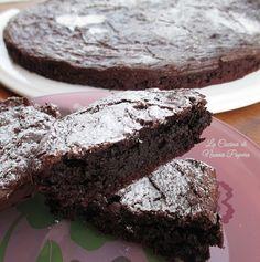 Torta al cioccolato senza farina senza lievito