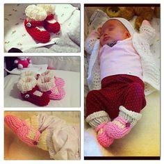 cute vintage baby booties, ravelry pattern (free)