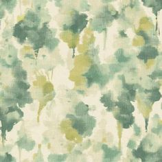 """Pattern """"Mirage"""" from Candice Olson collection Modern Nature in on trend bottle green with chartreuse #yorkwallcoverings"""