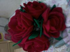 rose flower bouquet...