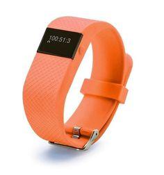 Fitness HR Smartband Bluetooth Heart Rate Monitor, Pedometer, Calories, Sleep