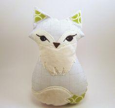 lady fox cushion