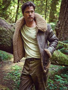Brad Pitt for Details Magazine