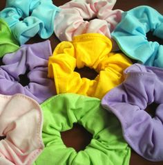 Private Island Party  - 80's Pastel Hair Tie Scrunchies Mix Colors 12-Pack, $12.00- $16.20   If you are looking for some classic and cute scrrunchies then look no further. These scunchy hair ties will have you looking like an 80's star in no time.