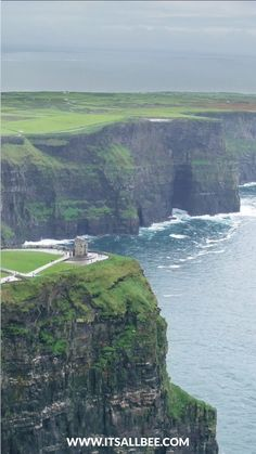 The Best Tours To Cliffs Of Moher From Dublin #Ireland  #traveltips #itsallbee