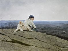 Walking pals?: Andrew-Wyeth