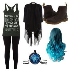 """""""Untitled #23"""" by daydreamer124 on Polyvore featuring Dr. Martens and Soaked in Luxury"""