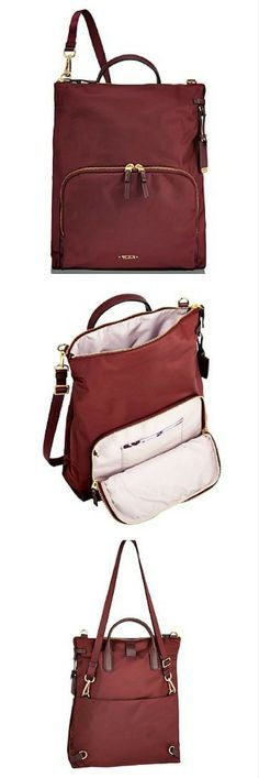 """Most airlines allow you to bring one """"personal item"""" in addition to a carry on bag. A purse, laptop bag, or small backpack all qualify as personal items. Here are some tips on how to choose the best in-flight travel purse like this one, the Tumi Crossbody Messenger Bag. 