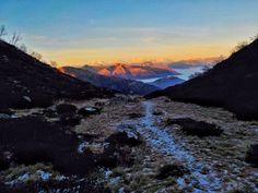 Valle Serdena (Ticino, Switzerland) Photo: Luca Manetti #trailburning