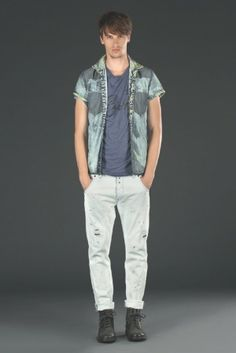 We Are Replay Spring Summer 2014 Men's Denim Lookbook - Daily Best Fashion