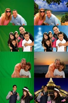 another fun idea for guests, instead of the traditional photo booth! green screen!