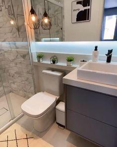 Washroom Design, Toilet Design, Bathroom Design Luxury, Bathroom Design Inspiration, Bad Inspiration, Home Room Design, Home Interior Design, Exterior Design, Small Bathroom Layout