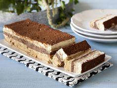 מתכון: עוגת ביסקוויטים בשלושה צבעים