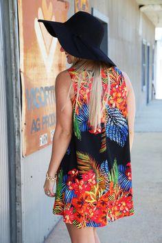 Perdido Beach Dress - The Rage
