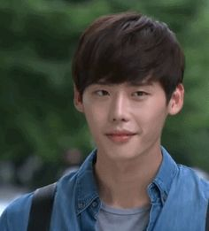 Lee Jong Suk ^ ^  #Park Soo Ha #I Hear Your Voice