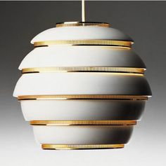 Alvar Alto's beehive lamp Exhibition at Grand Hornu Images til may 2014
