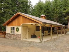 How To Build A Horse Barn On A 600 450