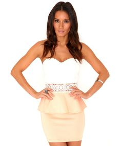 Debenams lovely formal peplum dress