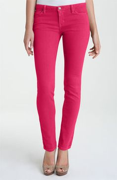 Adding some bright denim to my wardrobe for spring - hot pink by Michael Kors!