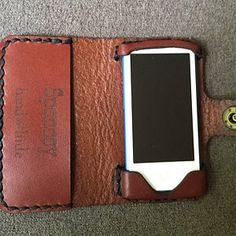 iPhone X Wallet Phone Case iPhone x Leather Case Leather Leather Bicycle, Leather Saddle Bags, Leather Tooling, Bicycle Bag, Leather Phone Case, Leather Wallet, Iphone Wallet Case, Iphone Cases, Bike Seat Bag