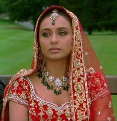 film cinema 2000s India bindi bollywood desi Karan Johar rani mukherjee Kabhi…