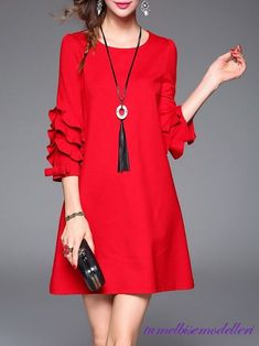 Dress red outfit night ideas the red dress Simple Dresses, Cute Dresses, Casual Dresses, Short Dresses, Fashion Dresses, Mini Dresses, Fashion Clothes, Summer Dresses, Summer Outfits