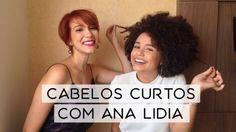 Cabelos curtos cacheados/crespos com Ana Lídia Lopes // NADICA DE NADIA