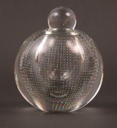 Modern Glass, Glass Design, Decanter, Finland, Scandinavian, Glass Art, Christmas Bulbs, Bubbles, Auction