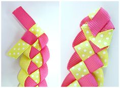 Step Eight Braided Ribbon Flip Flops Collage