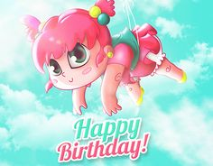 """Check out new work on my @Behance portfolio: """"Happy Birthday"""" http://on.be.net/1IPIFx4"""