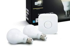 $83 Smart and energy efficient LEDs are meant to deliver beautiful and bright light, and the Philips Hue Smart Bulb Starter Kit is the best in business. The Philips Hue White A19 60w equivalent Smart Bulb Starter Kit is for every dude's man cave. The Kit is compatible with Amazon Alexa, Google Assistant, and Apple HomeKit – it requires iOS 9 and above and Philips Hue app v1.10. Smart Home Appliances, Smart Lights, Best Espresso Machine, Apple Homekit, White Lead, Kit Homes, Starter Kit, White Light, Man Cave