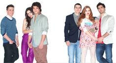 Colton Haynes, Crystal Reed, Tyler Posey, Dylan O'Brien, Holland Roden and Tyler Hoechlin