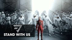 A Message from District 13 – Stand With Us | AND NOW A BRIEF MESSAGE FROM THE PINNER: **This has Plutarch written all over it. In the books he believed Panem should return to it's roots as THE preeminent 'Rhythm Nation'. And I tend to agree; everyone should be given standard issued billowing capes and be free to slay like Katniss.** @KatMcQueen [1Mockinjay4All]