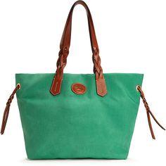 $139, Green Tote Bag: Dooney
