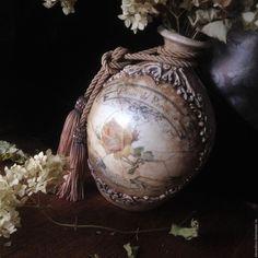 """Купить """"Adieu, Avignon !!!!!"""" Ваза-амфора. - комбинированный, подарок, прованс, прованский стиль, для цветов"""