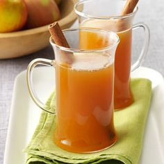 Hot Apple Cider - Reminds me of Christmas :)