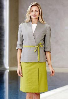 Stylish and fitted uniform for hotel manager uniforms for Uniform design for spa