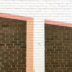 #Graphic #lines (2/3)  Photo by: Noëmie Forget #minimal #abstract #montreal #texture #brick