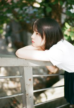 Cute Korean Girl, Asian Girl, Girls In Love, Cute Girls, Deep Photos, Aesthetic People, Girl Short Hair, Girl Poses, Portrait Inspiration
