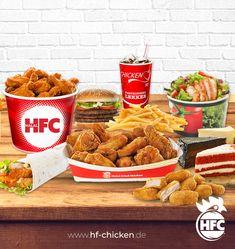 Neben unseren leckeren und saftigen Burgern gibt's bei HFC auch Wraps, Boxes, Salate, Desserts und vieles mehr . Jetzt bestellen unter: . Dillenburg-Filiale: Telefon: 02771 801 727 . Gießen-Filiale: Telefon: 0641 971 900 56 . #hfc #hfchicken #hfchickende #fastfood #burger #burgers #hamburger #chickenburger #fingerfoods #food #instafood #chicken #pommes #fastfoodliebhaber #instaburgers #deutschland #dillenburg #giessen #lieferservice Fast Food, Hamburger, Wraps, Chicken, Meat, Desserts, Salads, Germany, Tailgate Desserts