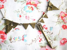 Lovesick Arrows Antiqued Bronze Geometric Arrow and by ihcharms