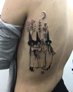 Oct 2019 - Dancing in the Moonlight Tattoo Detailliertes Tattoo, Form Tattoo, Get A Tattoo, Body Art Tattoos, Sleeve Tattoos, Tattoo Sleeves, Tatoos, Tiny Tattoo, Silhouette Tattoos