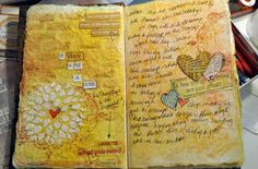 I pretty much love everything this woman does in her art journals