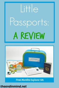 Little Passports - A Review - By MacKenzie