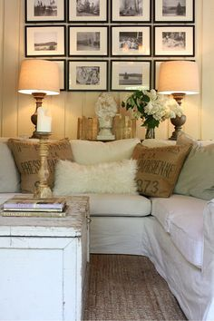 Instead Of End Tables For Sectionals Living Room Pinterest - End table for sectional sofa